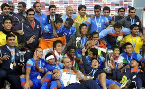 India lifted their sixth SAFF title in 2011