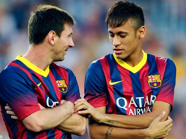 Messi and Neymar will have to be kept on a tight leash