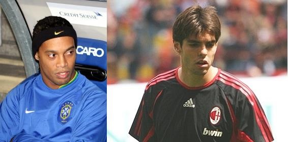 Will Ronaldinho & Kaka get the chance to play in the World Cup next year