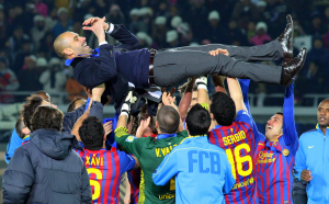 Pep's pressing philosophy was a reason for his massive success at Barcelona