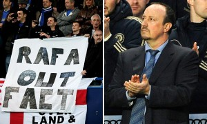 Benitez's appointment was met with hostility