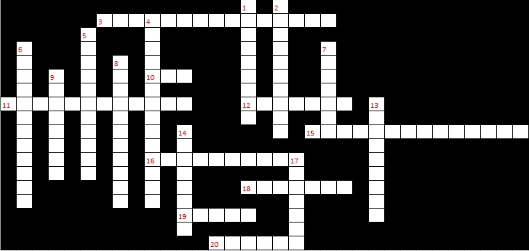 Football Crossword - Down & Across - 7 puzzle