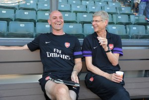 Steve Bould and Arsene Wenger | Arsenal: Is The Defence Strong Enough For A Title Challenge