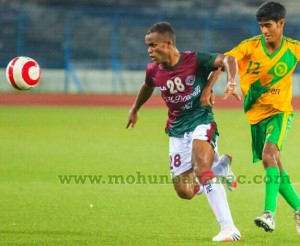 Wahid Sali is proving out to be a great addition to Mohun Bagan ranks