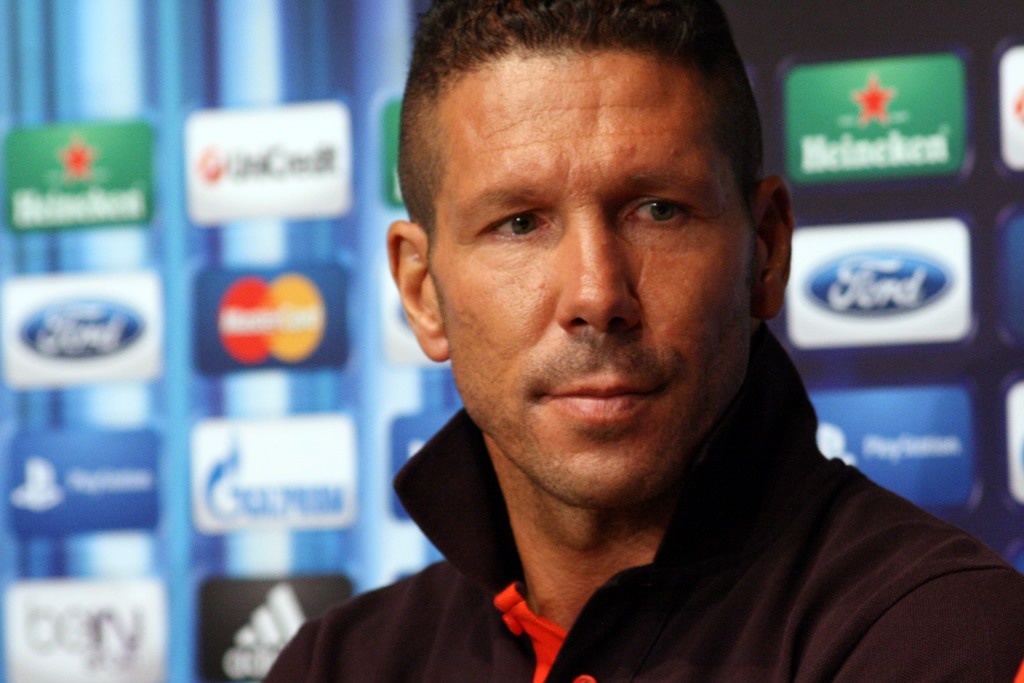 Diego Simeone - Atletico Madrid manager | Atletico Madrid - A Shift in Power in the Spanish capital