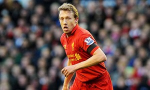 Lucas Leiva is the only destroyer in the Liverpool side