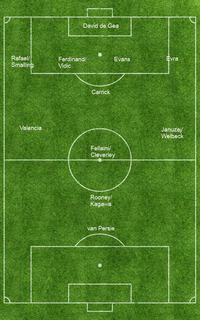 4-1-3-1-1 Formation