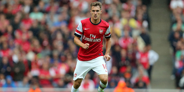 Ramsey - Excellent for Arsenal this season