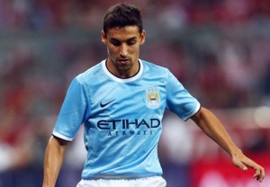 Jesus Navas was a constant threat on the right wing