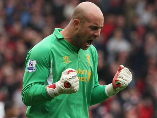 Pepe Reina - Napoli/Spain goalkeeper, on loan from Liverpool | Liverpool FC: Everton Performance Makes Simon Mignolet The Real Deal