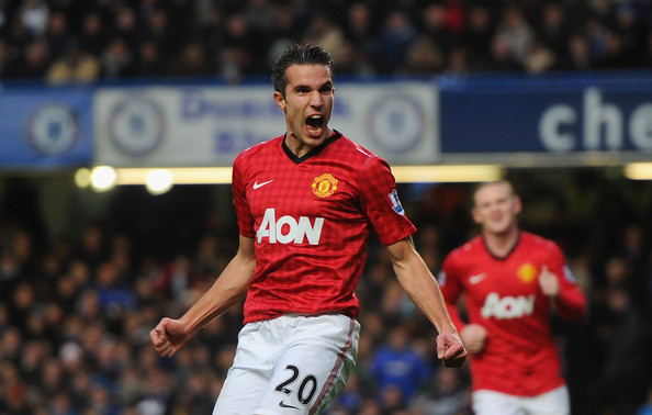 RvP and Rooney combined for United's winner