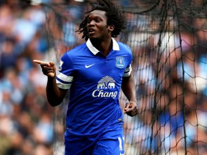 Romelu Lukaku - Everton striker