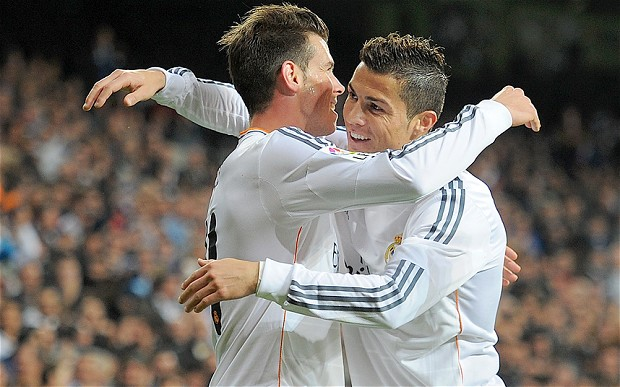 Ronaldo and Bale-Deadly Duo