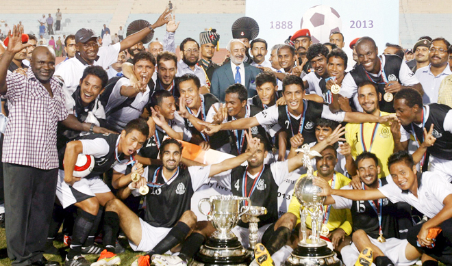 Defending Durand Cup Champions Mohammedan Sporting have always enjoyed support in Delhi
