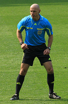 Howard Webb had a very poor day refereeing the match (wiki)