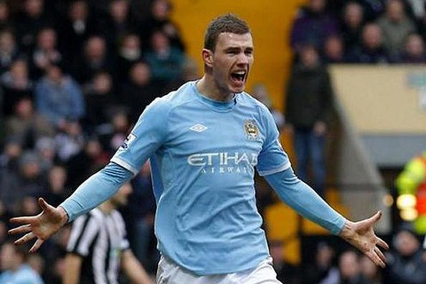 Dzeko subject of interest from various clubs, Spurs being the latest.