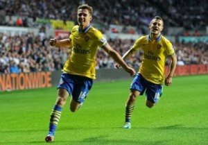 Aaron Ramsey`s fitness will be key vital for Arsenal`s title challenge