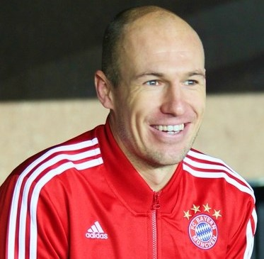 Arjen Robben Ruled Out for 6 Weeks