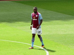 Christian Benteke - Aston Villa striker |