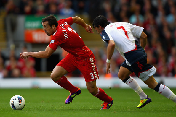Jose Enrique - Liverpool left back |
