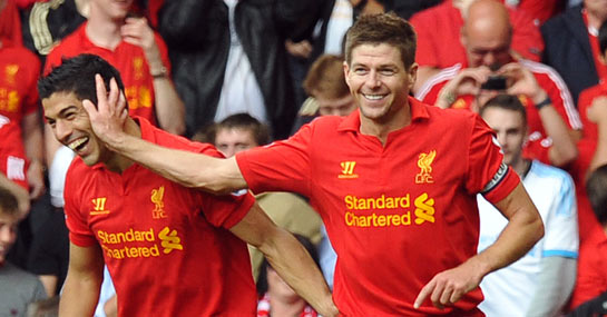 Luis Suarez (left) and Steven Gerrard | 2014 FIFA World Cup Draw XI - 11 Things We Observed