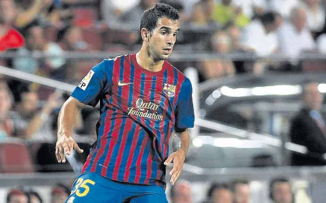 Martin Montoya - Barcelona right back | Liverpool FC: Who Should Rodgers Sign At Left Back?