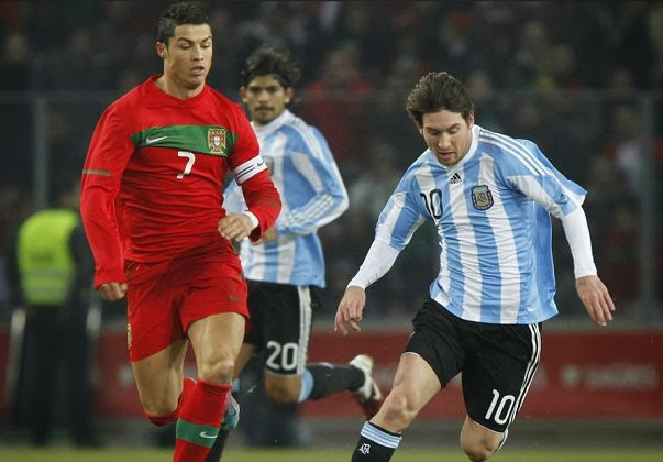Messi and Ronaldo - Will They Meet At The World Cup |