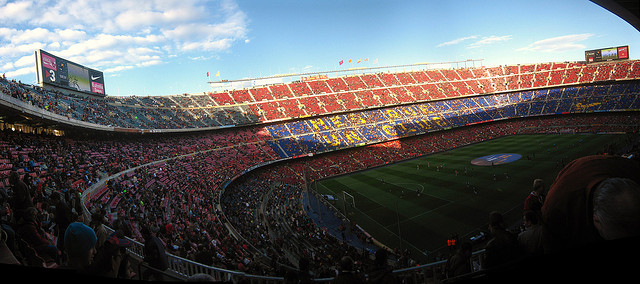FC Barcelona - Camp Nou, Not Big enough? (by Kieran Lynam)
