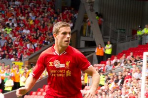 Jordan Henderson is a carrier, with a style of play quite similar to Gerrard