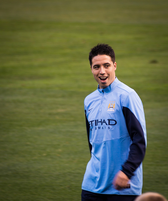 Samir Nasri has been ruled  out for eight weeks with injury (by Brad Tutterow)