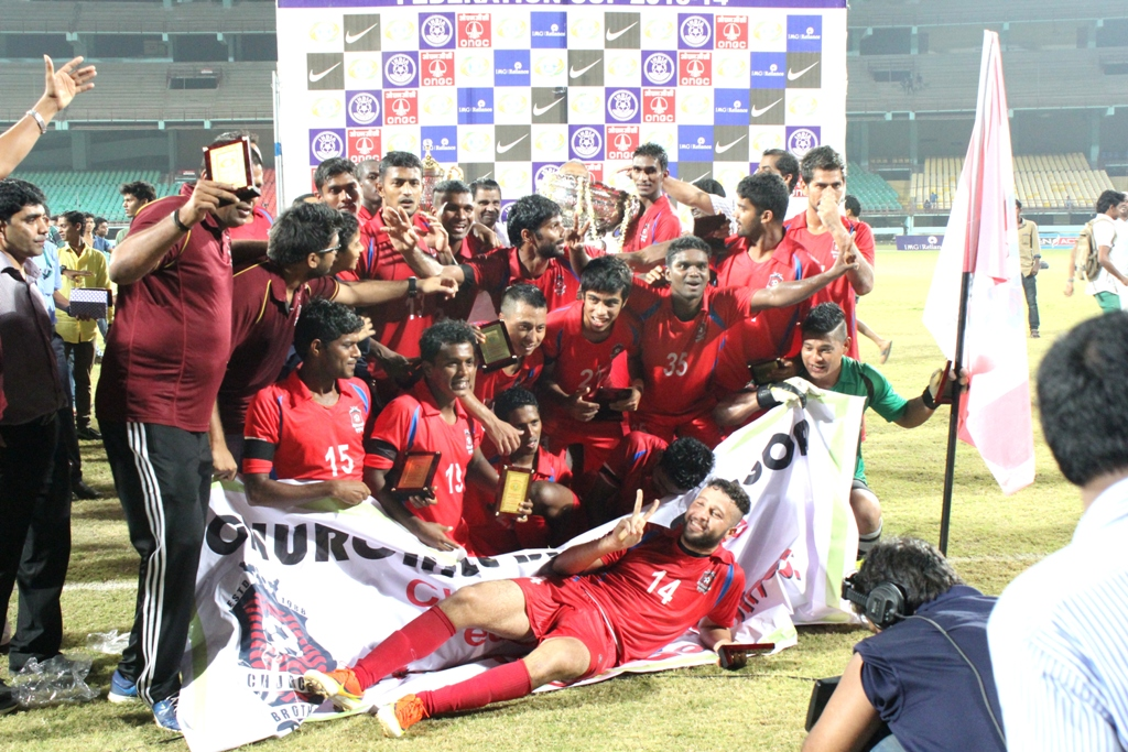 Federation Champions Churchill Brothers are struggling in the I-League