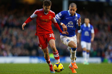 Lallana and Barkley vie for the ball and Roy Hodgson's attention