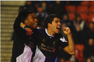 The 'SAS' will look to keep Liverpool`s title hopes alive