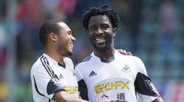 Wilfried Bony, Swansea City  Image Courtesy - Football.co.uk