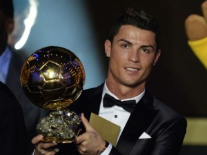 Cristiano Ronaldo won FIFA Ballon D'Or 2014