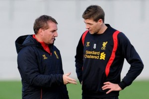 Brendan Rodgers has envisioned Steven Gerrard as a future centre-half.