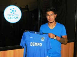 I-League : The New Dempo Recruit.