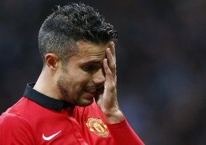 Robin van Persie returned to start for United but could not do much against Sunderland