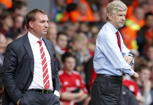 Things are not looking good for Rodgers and Wenger.