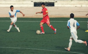 Redeem Tlang (No. 22) is one of the brightest talents at Shillong Lajong.