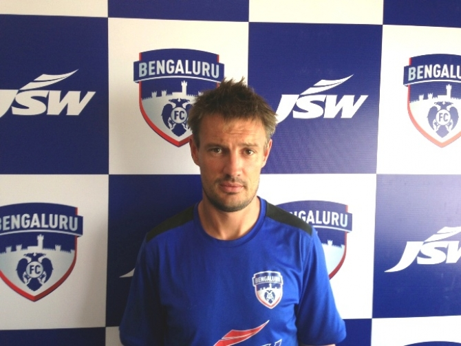 Management' s belief in Ashley Westwood played a key role in Bengaluruc FC' s truimph