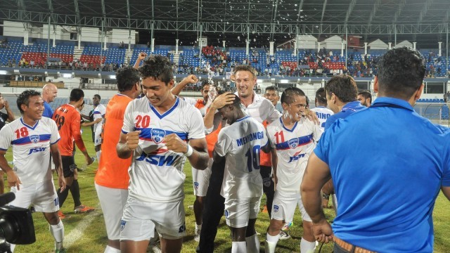 Bengaluru FC Celebrate Their I-League Win