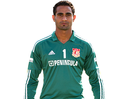 Amrinder Singh is one of the three Pune FC players in the team