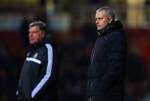 Mourinho was upset when West Ham parked the bus against his Chelsea side in the Premier League