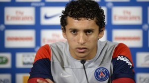 The arrival of David Luiz can recede Marquinhos to the bench
