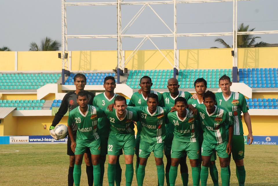 Salgaocar FC finished third in the I-League