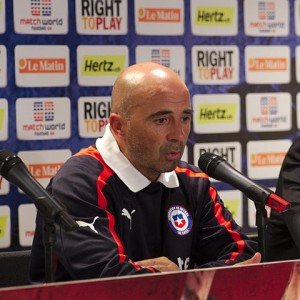 Jorge Sampaoli has given Chile a clear philosophy of play and has shown confidence in the strengths of his team.