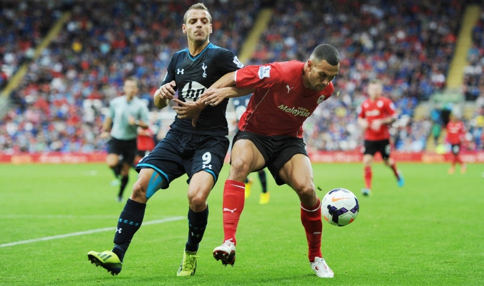 Tottenham, Cardiff City, Steven Caulker, David Marshall