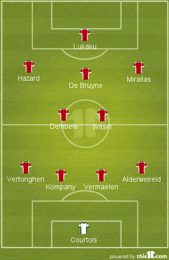 The 4-3-3?