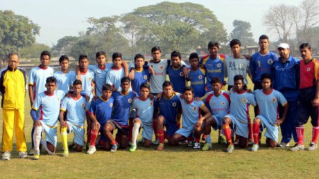 The East Bengal U-19 Team